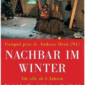 Nachbar im Winter